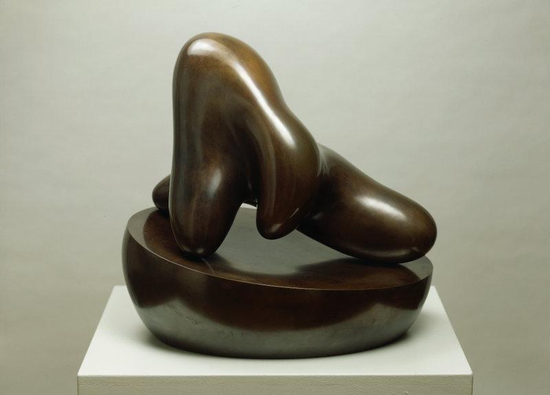 Human Concretion on Oval Bowl, 1947/1996, Bronze, Cast 0/3 (Noack), 55.5 x 59 x 43 cm