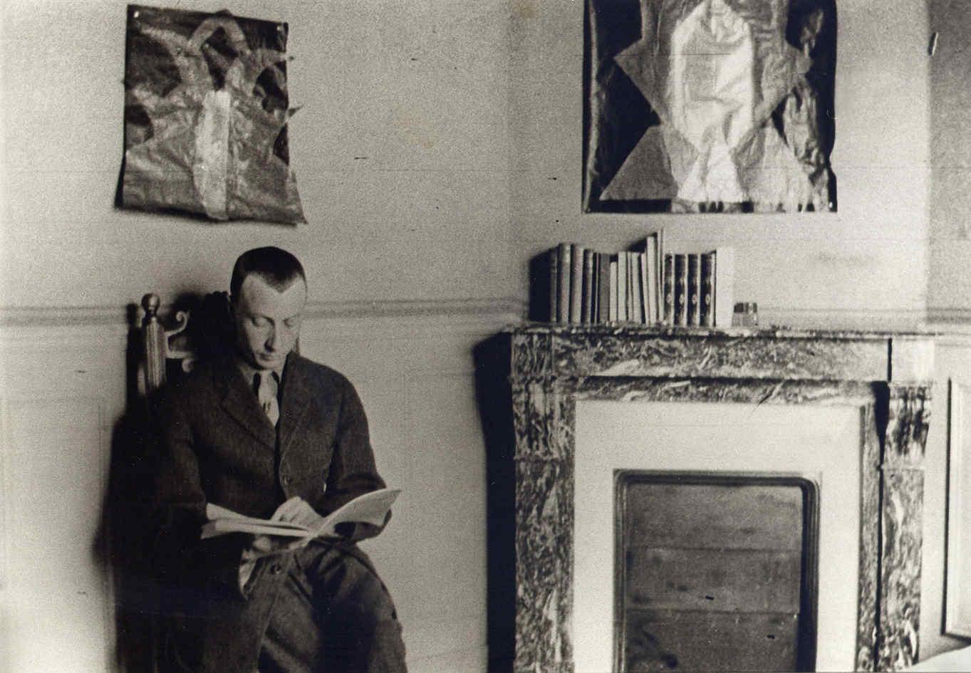 Hans Arp in Paris, 1914