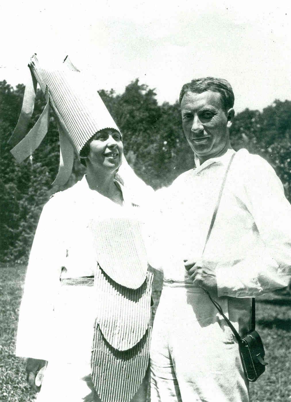 Sophie Taeuber-Arp and Hans Arp in Ascona, 1925