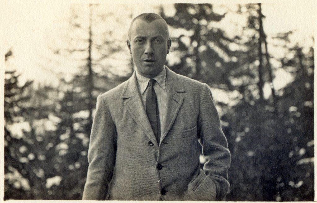 Hans Arp in Weggis, c. 1910