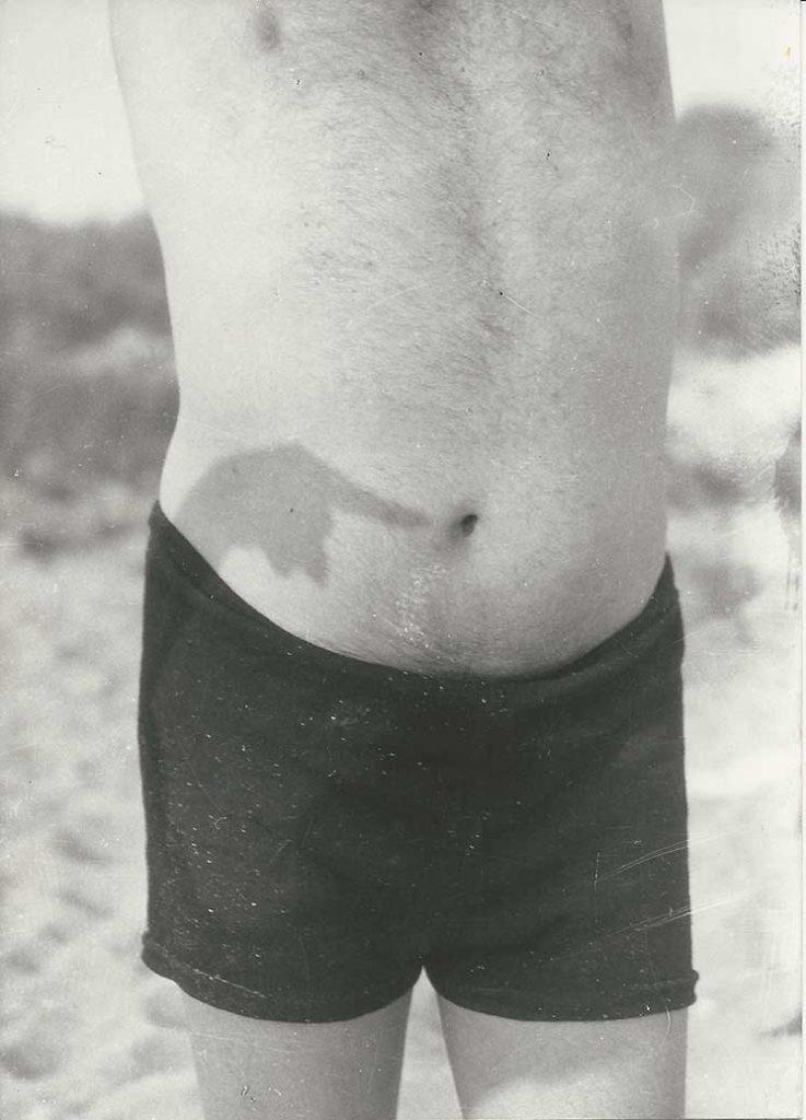 Hans Arp's navel, Brittany, c. 1930/1934