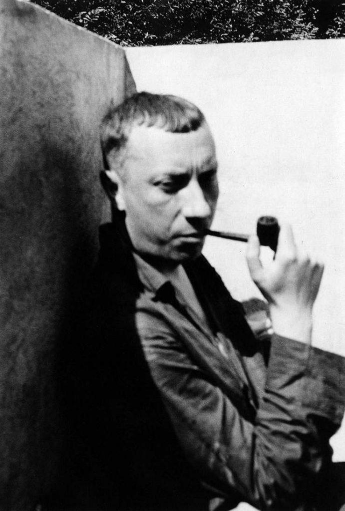 Hans Arp in Clamart, c. 1934
