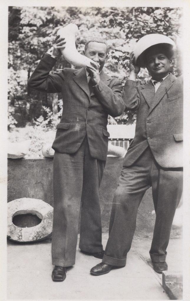 Hans Arp and Alberto Magnelli, Clamart 1938