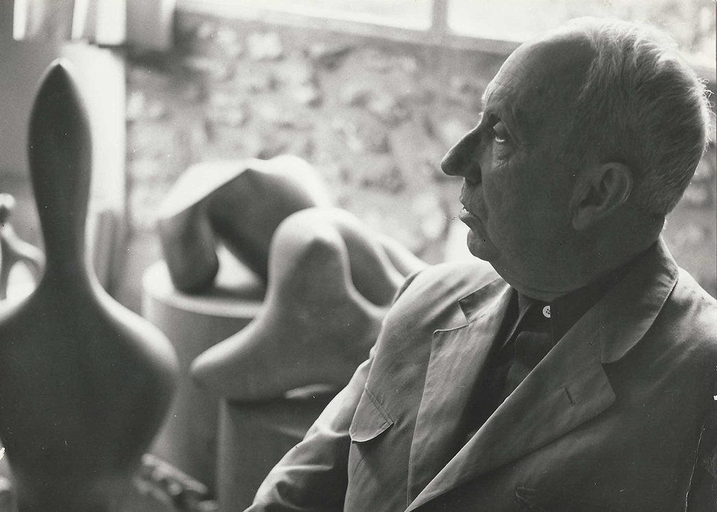 Hans Arp, Clamart, c. 1958
