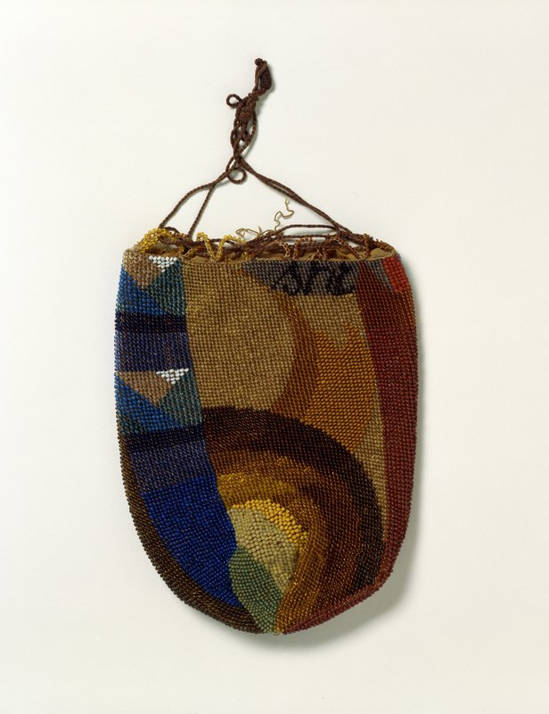 Sophie Taeuber-Arp, Beaded Purse, 1920, Beadwork, 17 x 13 cm