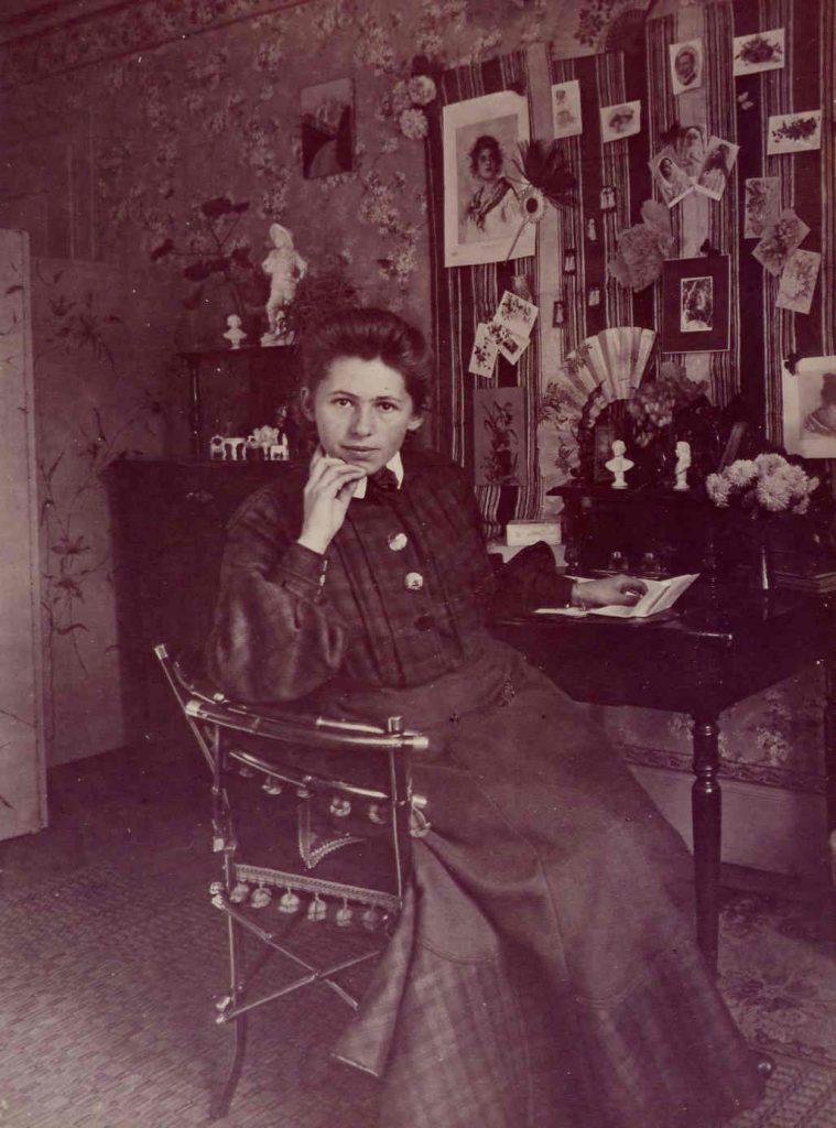 Sophie Taeuber in Trogen, um 1904