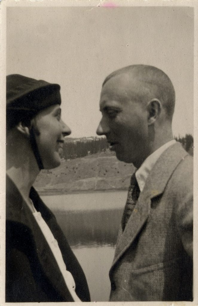 Sophie Taeuber and Hans Arp, Arosa, 1918