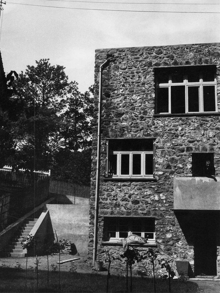 Von Sophie Taeuber-Arp entworfenes Atelierhaus in Meudon, 1927-1928