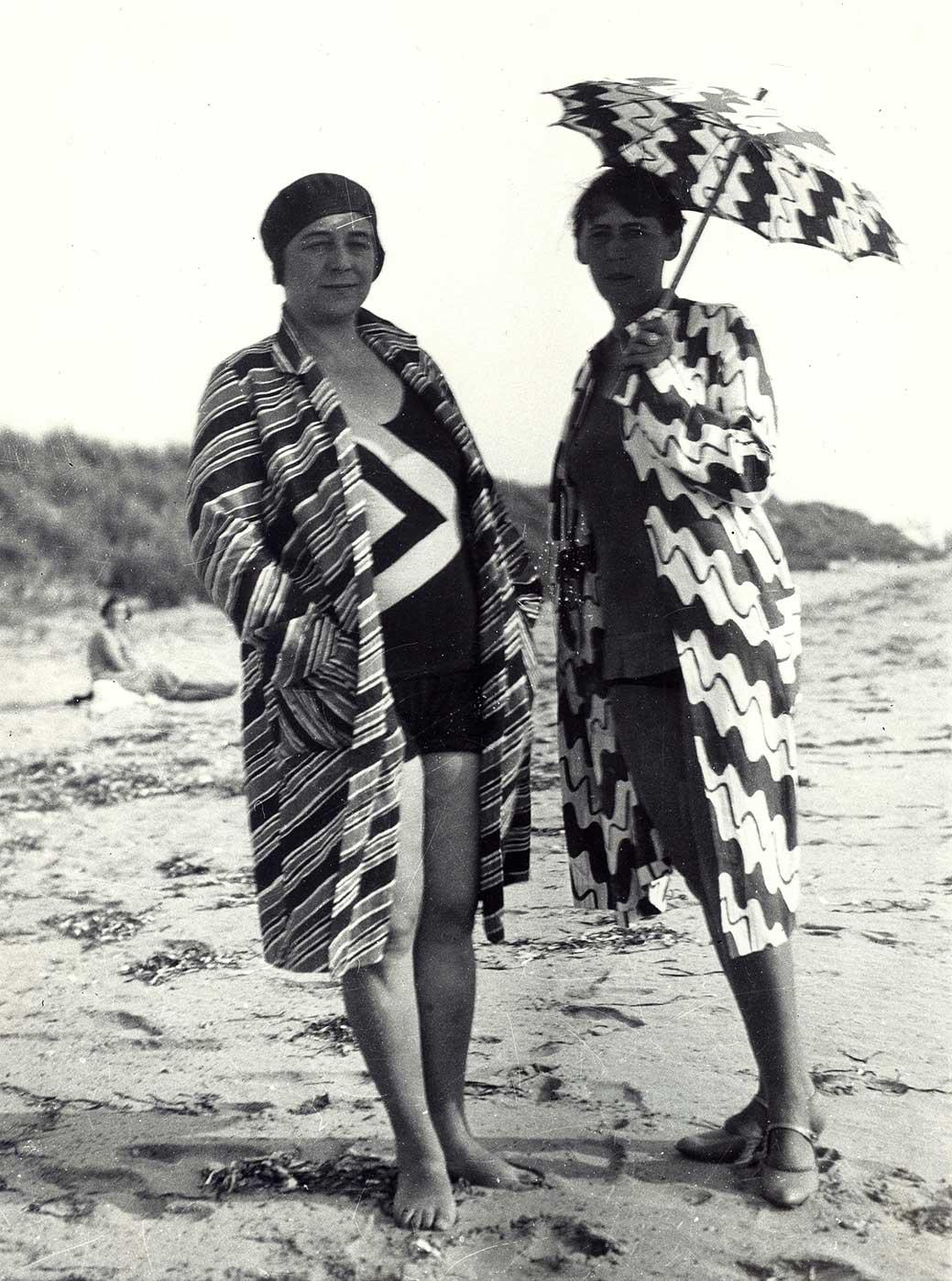 Sophie Taeuber-Arp und Sonia Delaunay in der Bretagne, 1930/1934
